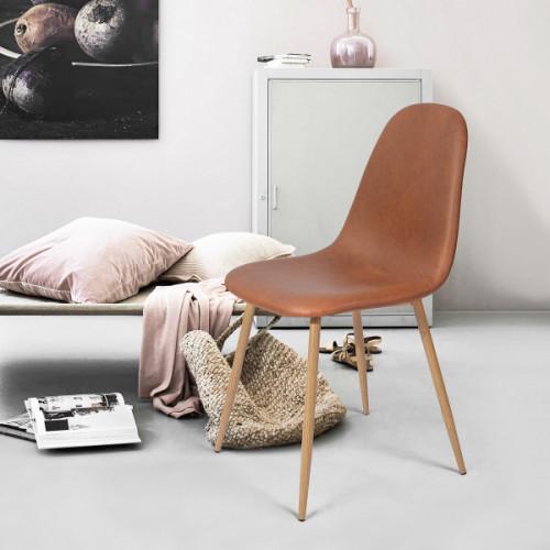 קרלטון וינטג' - כיסא רב תכליתי חום