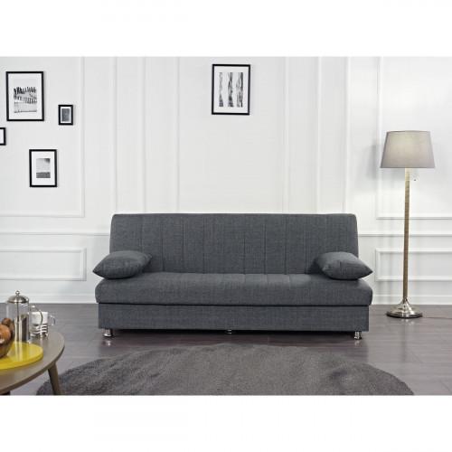 ספה נפתחת למיטה Bono אפור בהיר