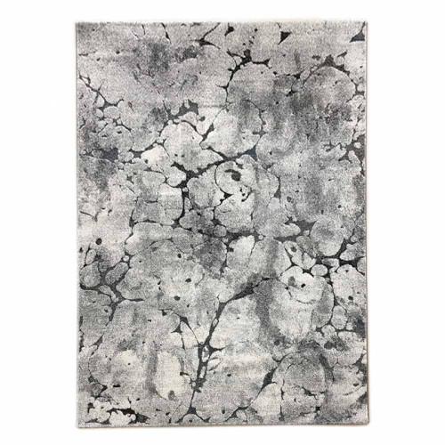 שטיח פלאש בטון נגיעות טורקיז 280X380