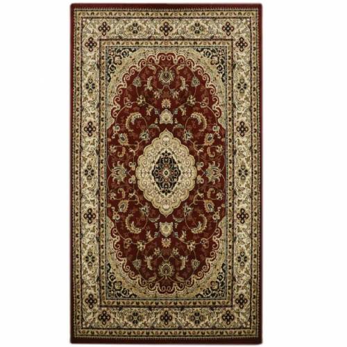 שטיח אפגן מדליון אדום 140X190