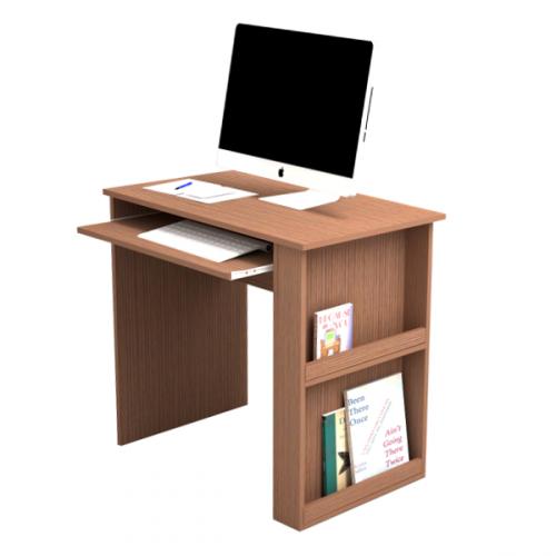 שולחן מחשב מיכל - צבע מוקה
