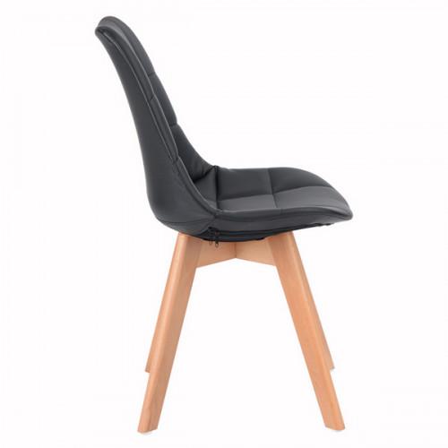 כיסא רב תכליתי דגם פאביו בצבע שחור