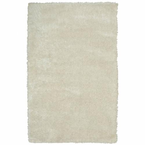 שטיח שאגי ברוז' שמנת 160X230
