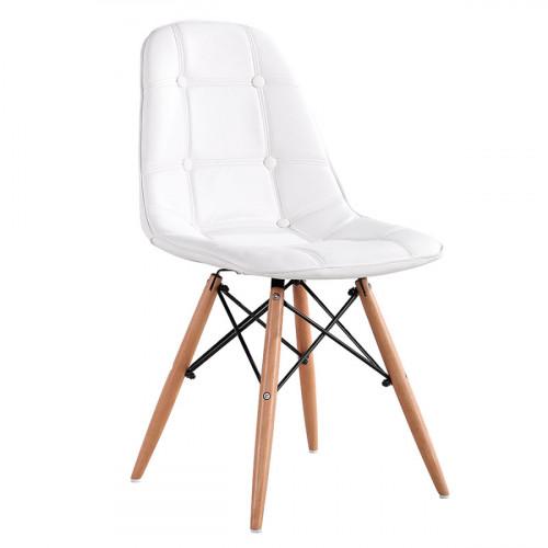כיסא לפינת אוכל דגם STOCKHOLM לבן