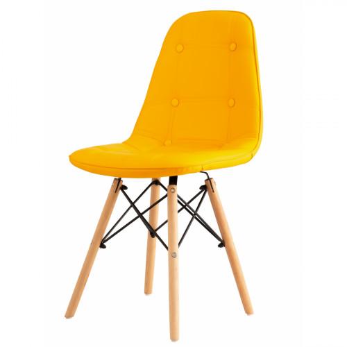 כיסא לפינת אוכל דגם STOCKHOLM צהוב