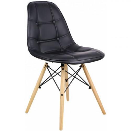 כיסא לפינת אוכל דגם STOCKHOLM שחור