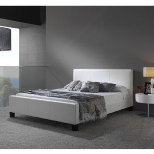 מיטה ברוחב וחצי  מעור אמיתי  דגם BLANCO