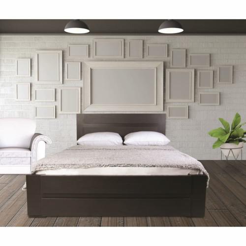 מיטה מעוצבת   בעיצוב חדשני  מתאימה למזרון 160/200 וונגה נויה