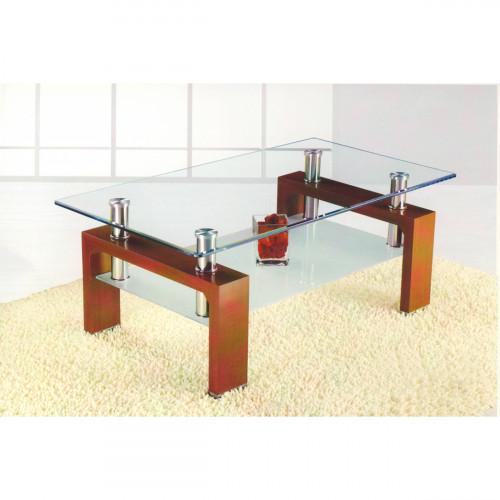שולחן סלון זכוכית דגם HUGO