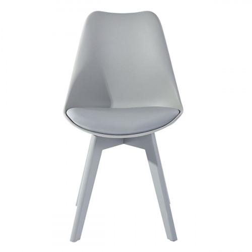 כסא דגם ברונו אפור בהיר