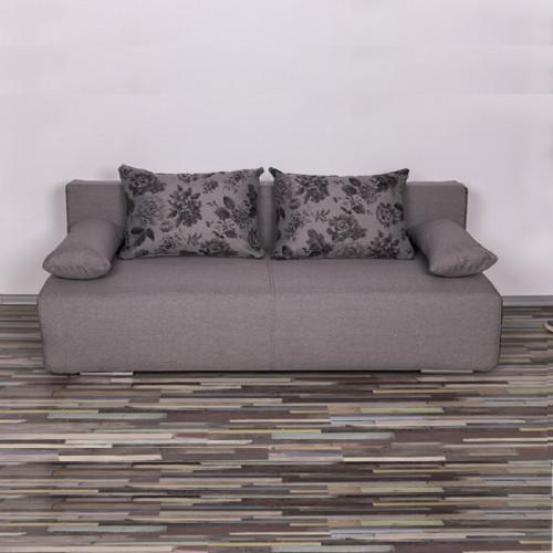 ספה מעוצבת נפתחת למיטה זוגית עם ארגז מצעים דגם פרינט