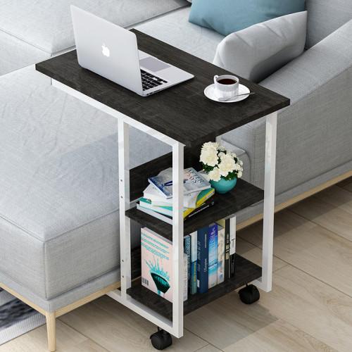 שולחן צד רב שימושי שחור-אספרסו