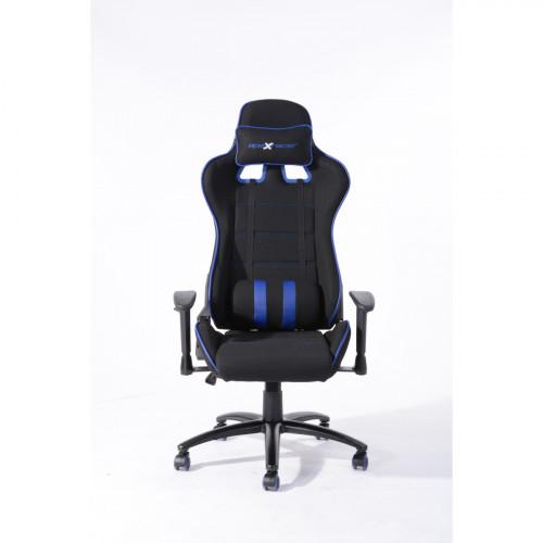 כיסא גיימינג/מנהלים איכותי דגם נוריס שחור-כחול