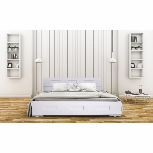 מיטה מעוצבת בעיצוב חדשני עם ארגז מצעים מתאימה למזרון  160/200 גליה