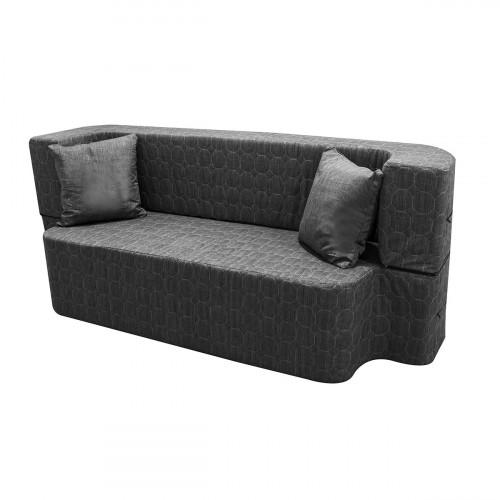 ספה תלת מושבית עשויה ספוג נפתחת למיטת יחיד SAPATA