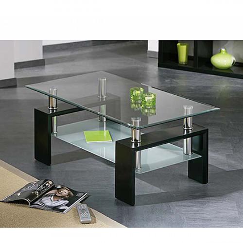שולחן סלון זכוכית דגם RIO