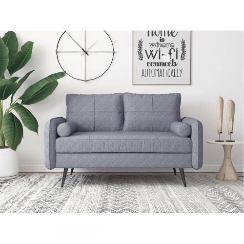 ספה דו-מושבית מעוצבת FOCUS אפור