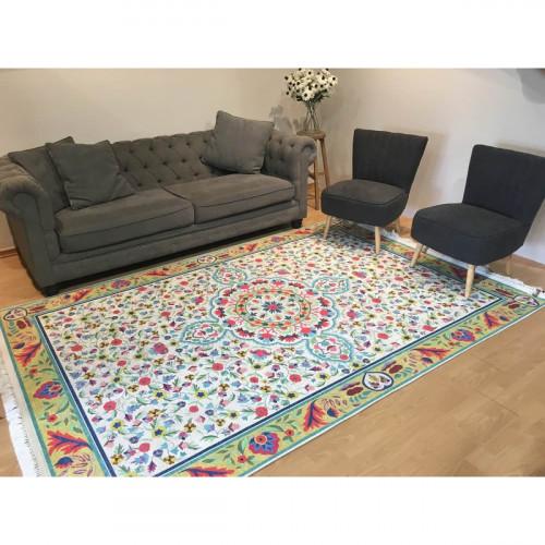 שטיח סמרקנד מדליון בהיר 160X230