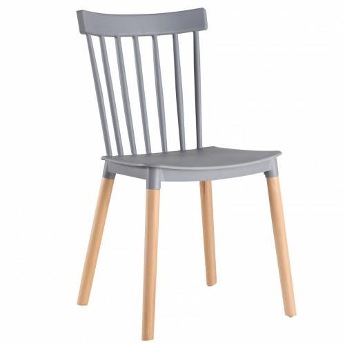 שישיית כיסאות דגם BISTROT אפור X6
