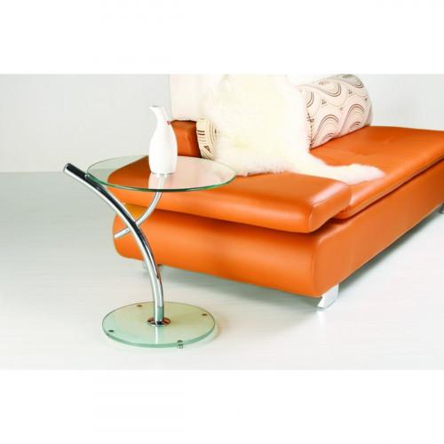 שולחן קפה מזכוכית דגם PALM