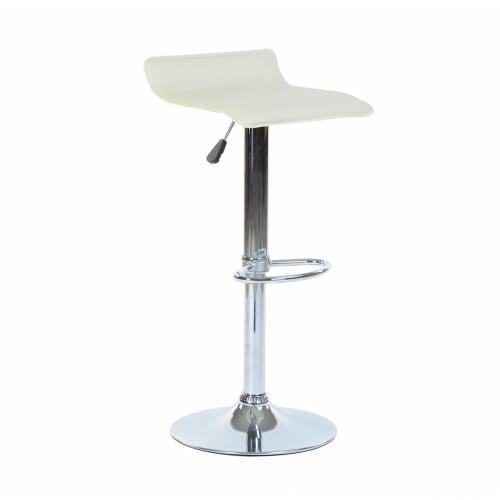כיסא בר דגם אלמנט מעוצב בסגנון מודרני בגוון בז