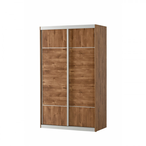 ארון הזזה – 2 דלתות - דגם מיראז' צבע שיטה