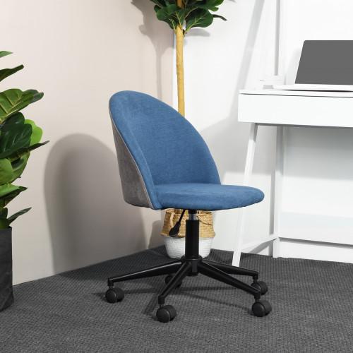 כסא דגם דאדלי חזר כחול-אפור