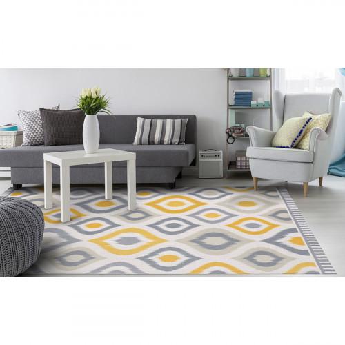 שטיח פיויסי עלמה צהוב - במגוון מידות