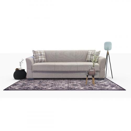 ספה תלת מושבית נפתחת למיטה  עם ארגז מצעים VERSUS בז'