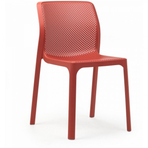 כיסא לפינת אוכל דגם SIDNEY אדום