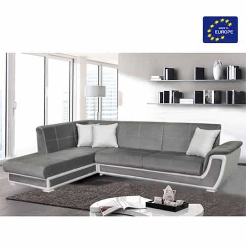 מערכת ישיבה פינתית נפתחת למיטה זוגית +ארגז מצעים דגם קליפורניה