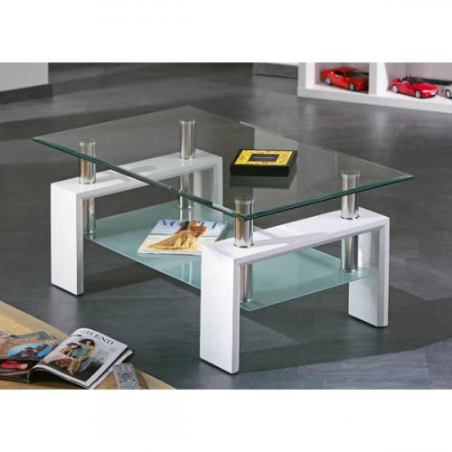 שולחן סלון זכוכית דגם ANTONIO