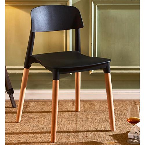 כיסא לפינת אוכל דגם DUBLIN שחור