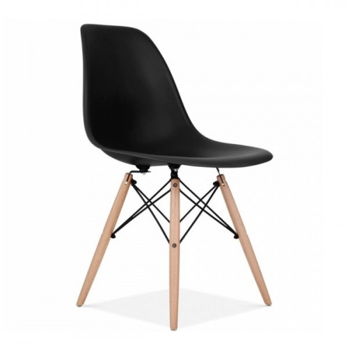 רביעיית כיסאות דגם BARI שחור X4