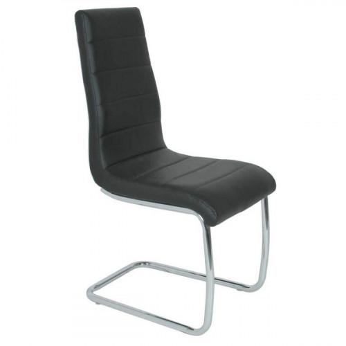 כיסא לפינת אוכל דגם פגאסו בצבע שחור