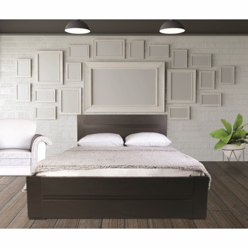 מיטה מעוצבת   בעיצוב חדשני  מתאימה למזרון 160/190 וונגה נויה