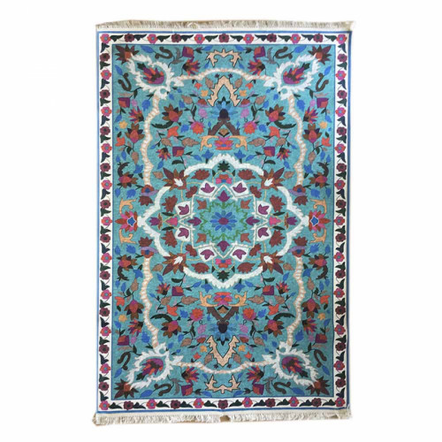 שטיח סמרקנד מדליון טורקיז 160X230