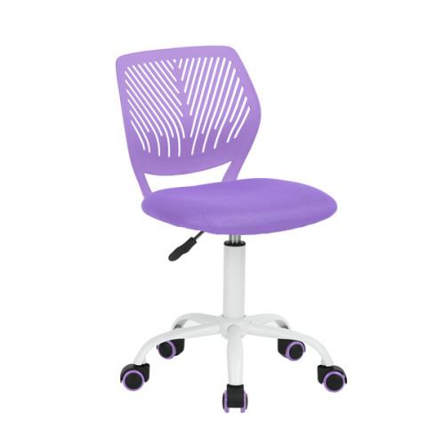 כסא תלמיד דגם רוני - סגול