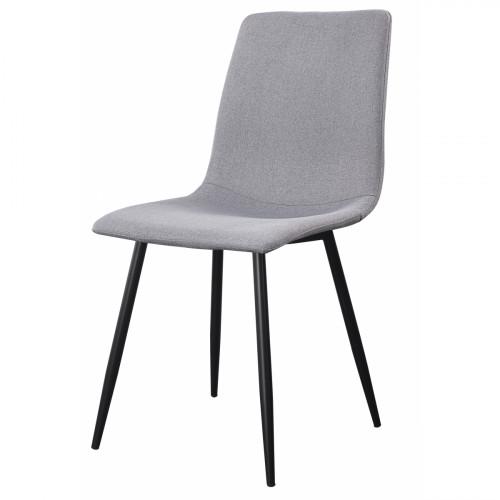 רביעיית כסאות Madison אפור . בד אריג X4