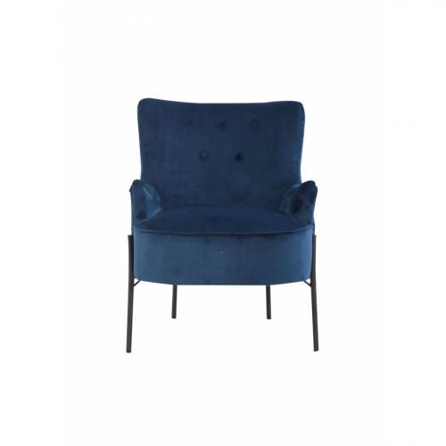 כורסה מעוצבת דגם אטלנטה כחול