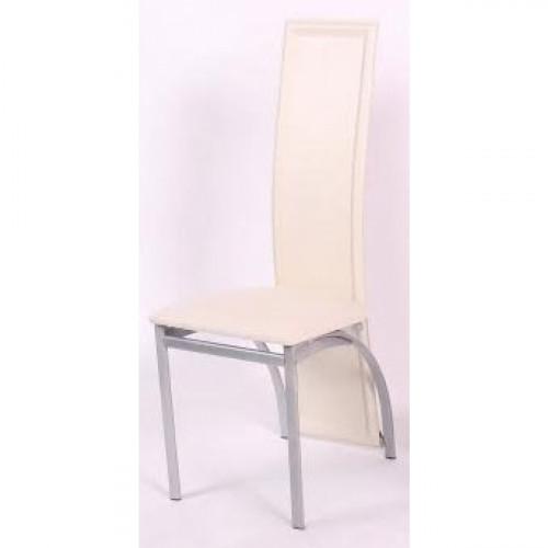 כיסא לפינת אוכל בעיצוב מודרני דגם ורונה בגימור לבן