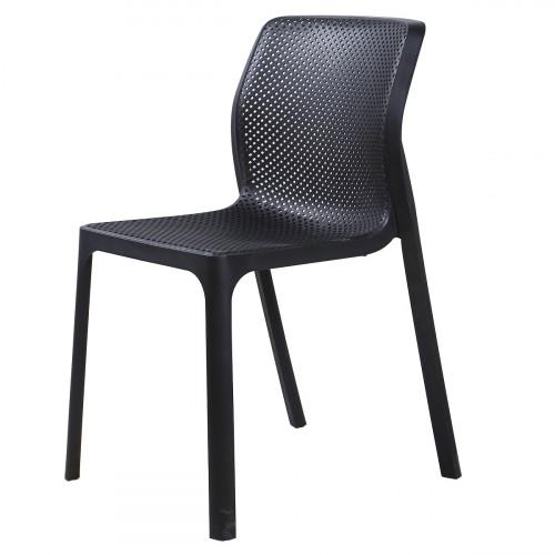 כיסא לפינת אוכל דגם SIDNEY שחור