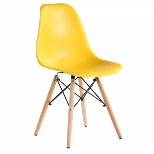 כיסא לפינת אוכל דגם BARI צהוב