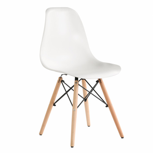כיסא לפינת אוכל דגם BARI לבן