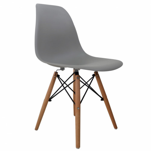 רביעיית כיסאות דגם BARI אפור X4
