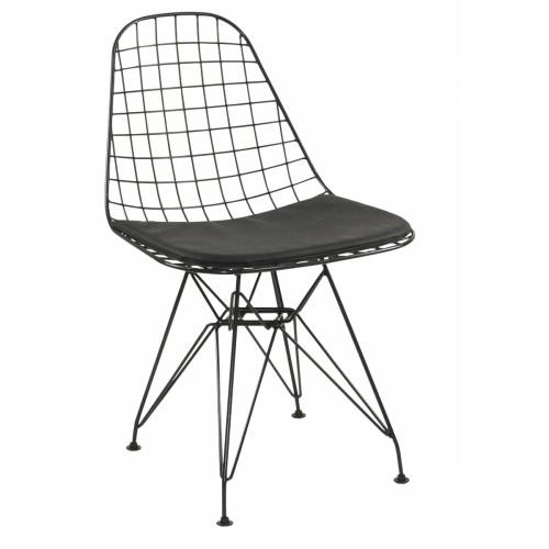 רביעיית כסאות דגם Presto שחור X4