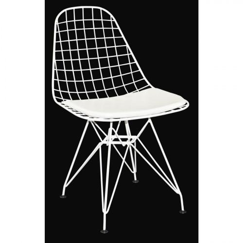 רביעיית כסאות דגם Presto לבן X4