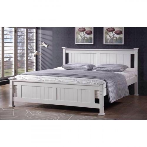 מיטה זוגית מעץ מלא המתאימה למזרון 160/200 BALENO