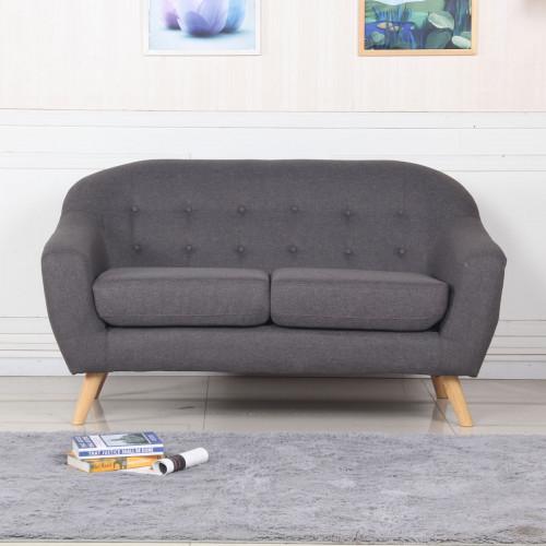 ספה דו SOHO אפור
