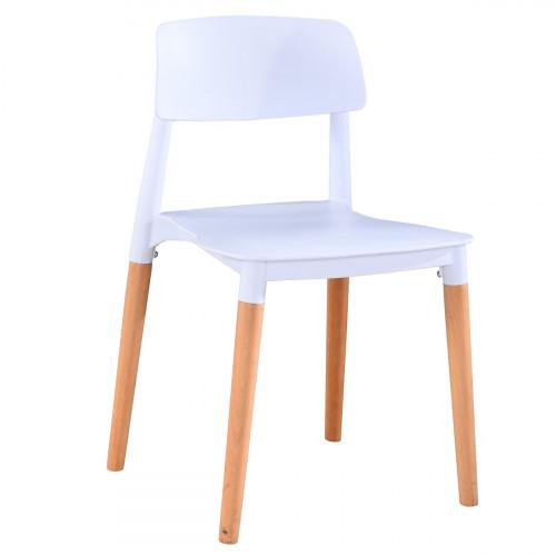 כיסא לפינת אוכל דגם DUBLIN לבן